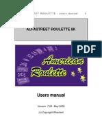 Manual Del Usuario Alfa Street RK8