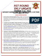 Weekly Update 11.5.11