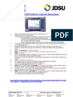 READ ME FIRST - MTS-6000 Software Upgrade Instructions