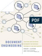 Document Engineering (Docs for Business tics - R. Glushko, T. McGrath (MIT, 2005) WW