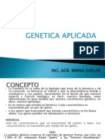 GENETICA APLICADA