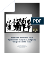 Movimientos sociales de campesinos e indígenas en  El Salvador
