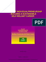 Secrets Of Individualpreneurship - Building A Sustainable Self-Reliant Career