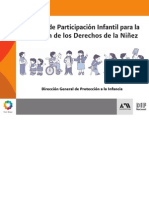 Manual Participacion Infantil Derechos Nios