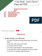 Case Study ASP and XML