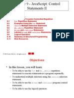 JS Control Statements II
