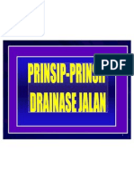 1, Prinsip-prinsip Drainase Jalan
