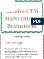 StamfordToastmasters-MentoringBrainstorm