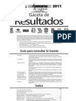 Gaceta_2011