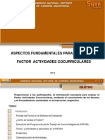 Act. Cocurriculares