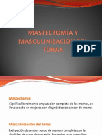 Exposición Mastectomía y Masculinización Tórax