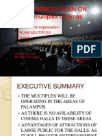 PROJECT REPORT ON 'multiplex cinemas'