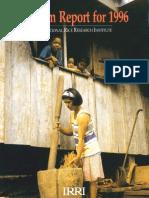 Program Report for 1996