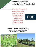 Diversidade Regional Do to Rural Na Fronteira Sul
