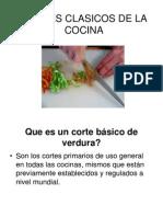 Cortes Clasicos de La Cocina