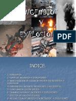 INCENDIOS Y EXPLOSIONES.