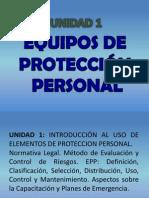 Unidad 1 y 2 Introduccion a EPP y P. Ocular