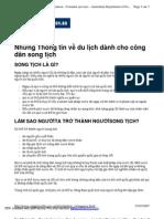 Mien Visa Mot Cam Bay Song Tich Uc