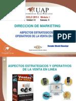 Aspectos Estrategicos y Operativos de La Venta en Linea - Donato Sinchi Escobar -Uap