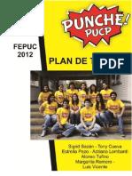 Plan de Trabajo Punche Pucp a La Fepuc 2012