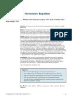 Intentos suicidas - Prevención de repetición