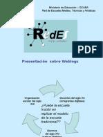 ReDEs - Presentacion Sobre Weblogs