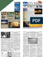 "Kuta Weekly-Edition 257 ""Bali""s Premier Weekly Newspaper"""