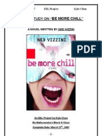 Novel Study on Be More Chill
