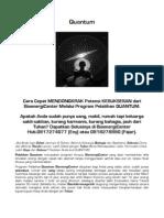 Quantum Bioenergi