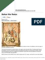 Balkan War Redux