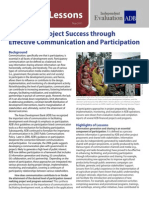 Improving Project Success through Effective Communication and Participation