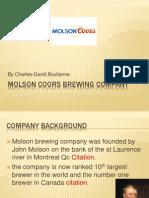 Molson Brewing Company