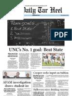 The Daily Tar Heel for November 4, 2011