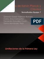 Axiomas de Kelvin-Planck y Clausius