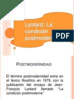 Lyotard presentacion