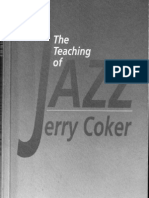 the Teaching of Jazz 1 Jerry Coker