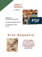Arte Rupestre y Mesopotámico