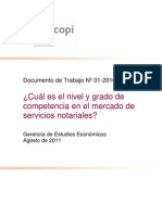Documento de Trabajo Nro. 01- 2010/GEE