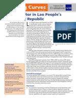 Energy Sector in Lao People's Democratic Republic