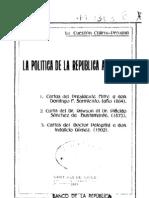 La cuestión chileno-peruana. La política de la República Argentina. (1919)