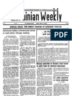 The Ukrainian Weekly Special Issue-The Great Famine of 1932-33