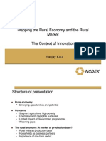 Mapping Rural Economy and Market