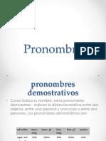 Pronombre Gramatica