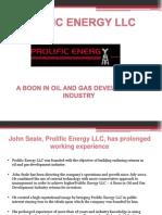 Prolific Energy LLC