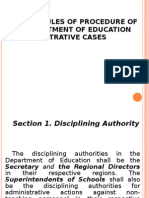 Deped Revised Rules of Procedure