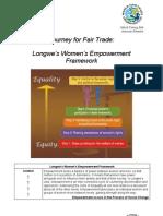 Longwe's Women's Empowerment Framework