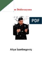 Aliya İzzetbegoviç- İslam Deklarasyonu