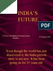 INDIA Sustaining Growth