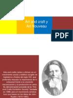 Art and Craft y Art Noveau