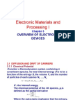 25297606 Chapter 3 Overview of Electronic Devices